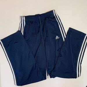 Adidas blue pants size M
